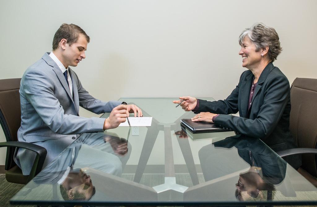 Sollicitatie gesprek